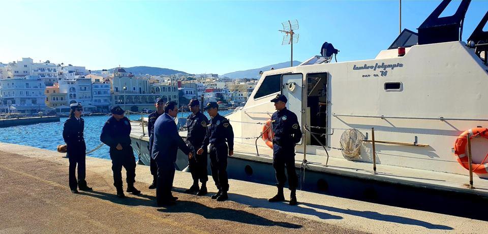 Επίσκεψη Αναπληρωτή Υπουργού Ναυτιλίας στην Κάρπαθο