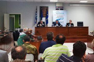 Ο Δήμαρχος Καρπάθου, ο Έπαρχος Καρπάθου-Κάσου και ο Αναπληρωτής Υπουργός Ναυτιλίας στην ενημέρωση για το Μεταφορικό Ισοδύναμο